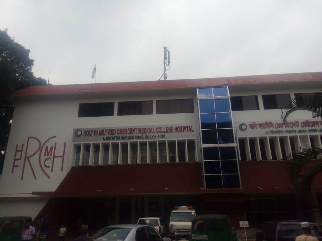 Holy family hospital Dhaka